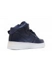 Кроссовки Nike Air Force 1 Mid Leather Dark Blue