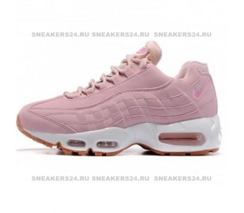 Кроссовки Nike Air Max 95 Premium Pink Oxford/Pink Oxford
