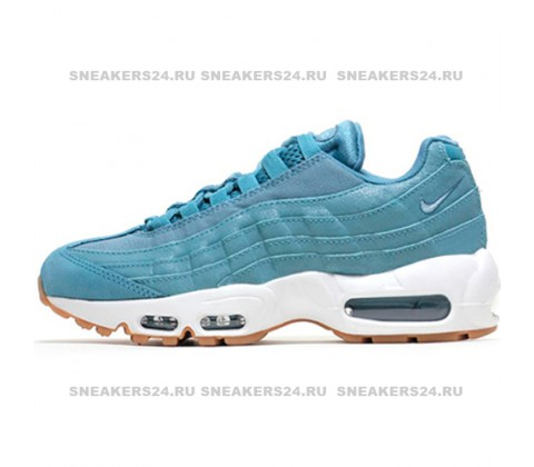 Кроссовки Nike Air Max 95 Premium Smokey Blue/Smokey Blue-Mica Blue