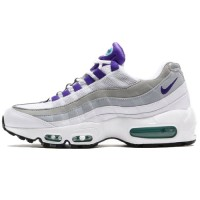 Кроссовки Nike Air Max 95 White/Grey/Purple