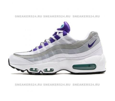 Кроссовки Nike Air Max 95 White/Grey/Purple
