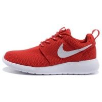 Кроссовки Nike Roshe Run Material Red/White