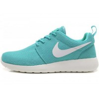 Кроссовки Nike Roshe Run Material Turquoise White
