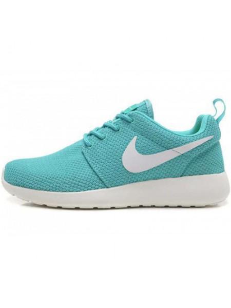 Кроссовки Nike Roshe Run Material Turquoise White