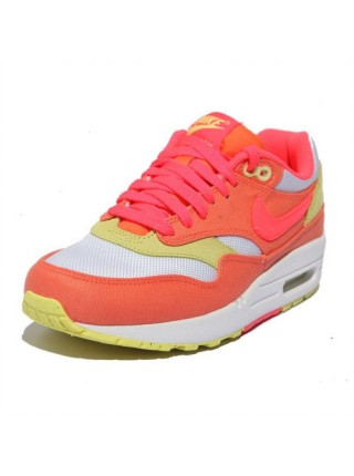 Кроссовки Nike Air Max 1 (87) Melon-Hot Punch/White-Yellow Diamond