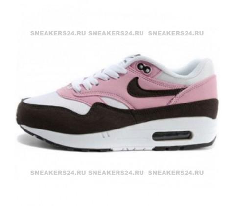 Кроссовки Nike Air Max 87 Pink/White/Brown