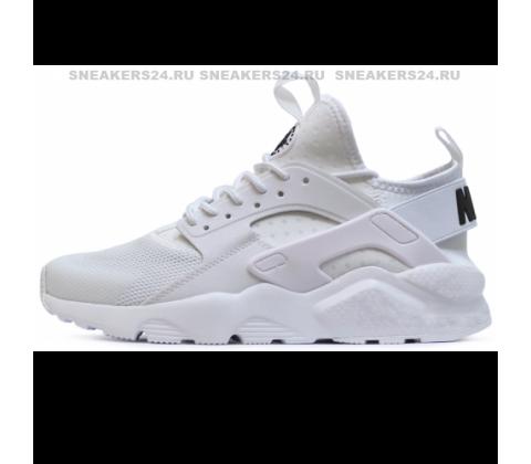Кроссовки Nike Air Huarache Ultra Triple White