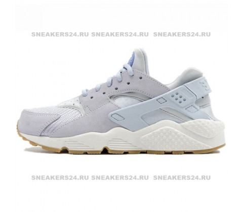 Кроссовки Nike Air Huarache ES Grey/Sky Blue/White