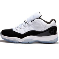 Кроссовки Nike Air Jordan XI Retro Low White/Black