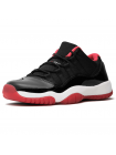 Кроссовки Nike Air Jordan XI Retro Low Black/Red
