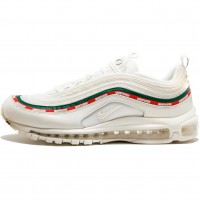 Кроссовки Nike Air Max 97 Undefeated White/Green/Speed Red
