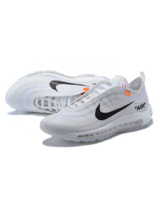 Кроссовки Nike Air Max 97 OG x Off White White