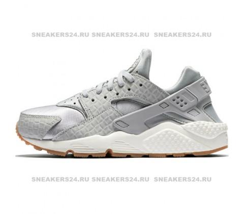 Кроссовки Nike Air Huarache Premium Silver