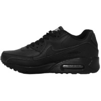Кроссовки Nike Air Max 90 Black With Fur