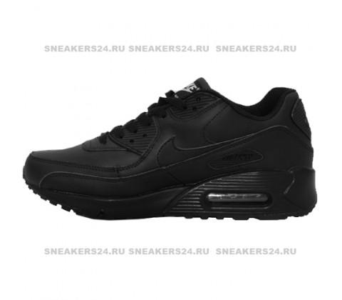 Кроссовки Nike Air Max 90 Black With Fur
