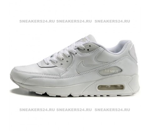 Кроссовки Nike Air Max 90 White With Fur