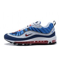 Nike Air Max 98 (Royal Blue/Red/Black/White)