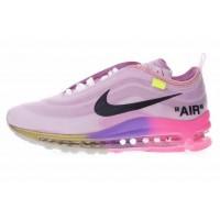 Nike Air Max 97 x OFF-WHITE Menta розовые