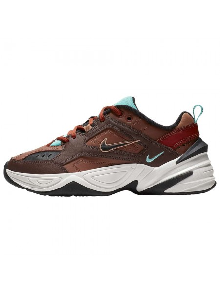 Nike M2K Tekno (Mahogany Mink/Black/Orange)
