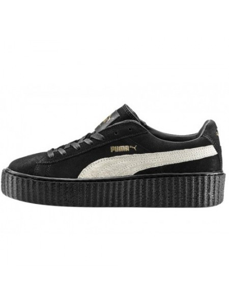 Кроссовки Puma by Rihanna Black With White Stripe