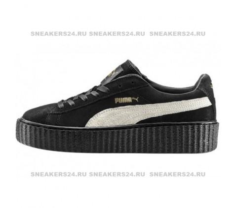 Кроссовки Puma by Rihanna Black With White Stripe