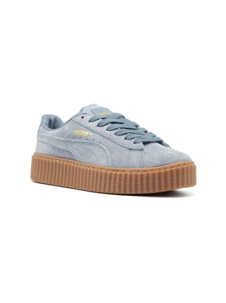 Кроссовки Puma x Rihanna Creeper Light Blue/Light Blue/Oatmeal