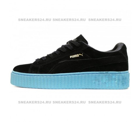 Кроссовки Puma X Rihanna Creeper Black Sky Blue