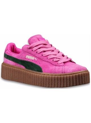 Кроссовки Puma X Rihanna Creeper Pink/Green/Beige
