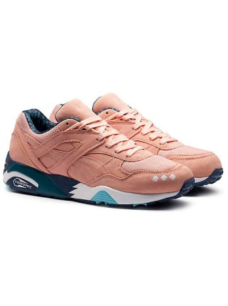 Кроссовки Alife x Puma Trinomic R698 Peach/Blue