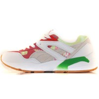 Кроссовки Puma Trinomic R698 Patina White/Red/Green