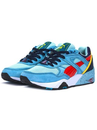 Кроссовки Alife x Puma Trinomic R698  Light Blue