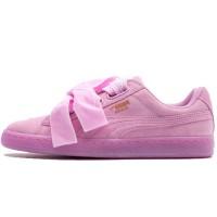 Кроссовки Puma Basket Heart Patent Pink Bow