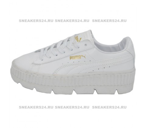 Кроссовки Puma by Rihanna Cleated Creeper Suede White