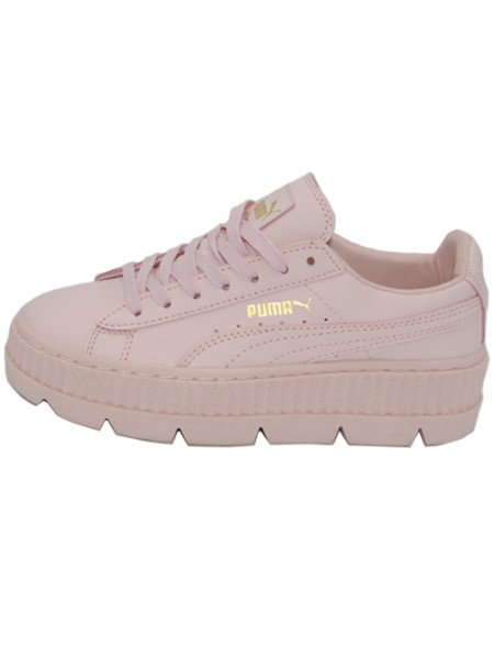 Кроссовки Puma by Rihanna Cleated Creeper Suede Light Pink