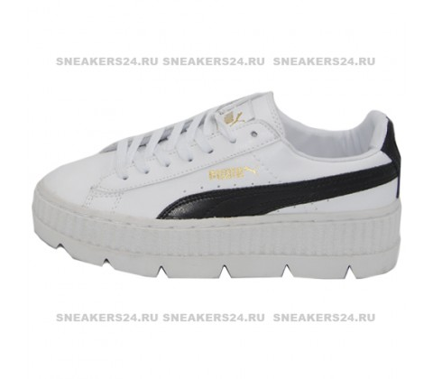 Кроссовки Puma by Rihanna Cleated Creeper Suede White/Black