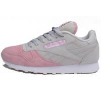 Кроссовки Reebok Classic Pink/White