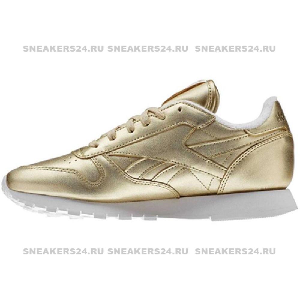 6e920dda482 Кроссовки Reebok x FACE Stockholm Classic Spirit Gold