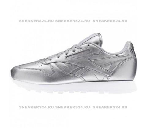 Кроссовки Reebok x FACE Stockholm Classic Spirit Silver