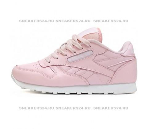 Кроссовки Reebok Classic Leather Dim Pink