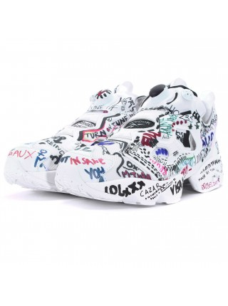 Кроссовки Reebok Insta Pump Fury VETEMENTS Graffiti