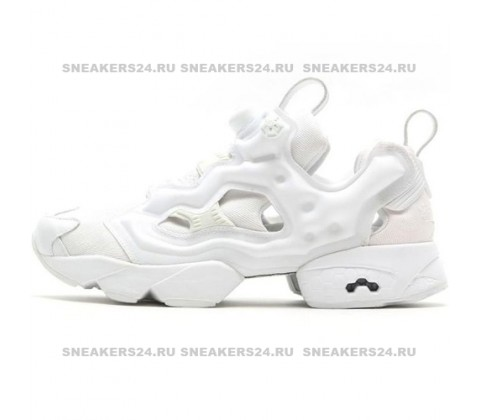Кроссовки Reebok Insta Pump Fury All White