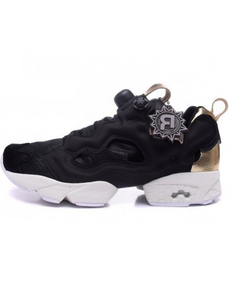 Кроссовки Reebok Insta Pump Fury Black/Gold