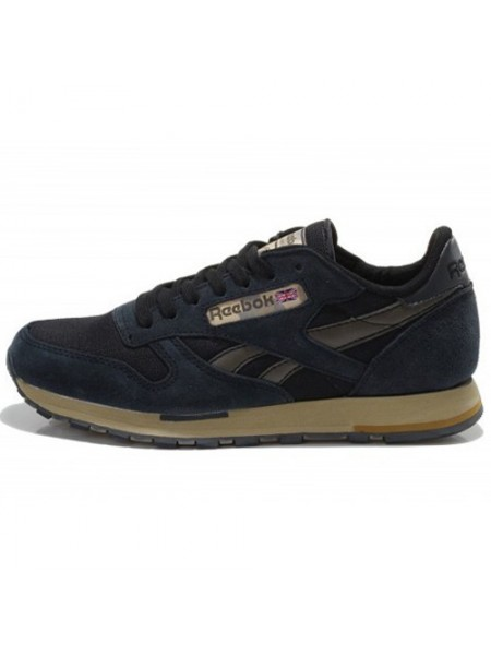 Кроссовки Reebok Classic Leather Utility Black