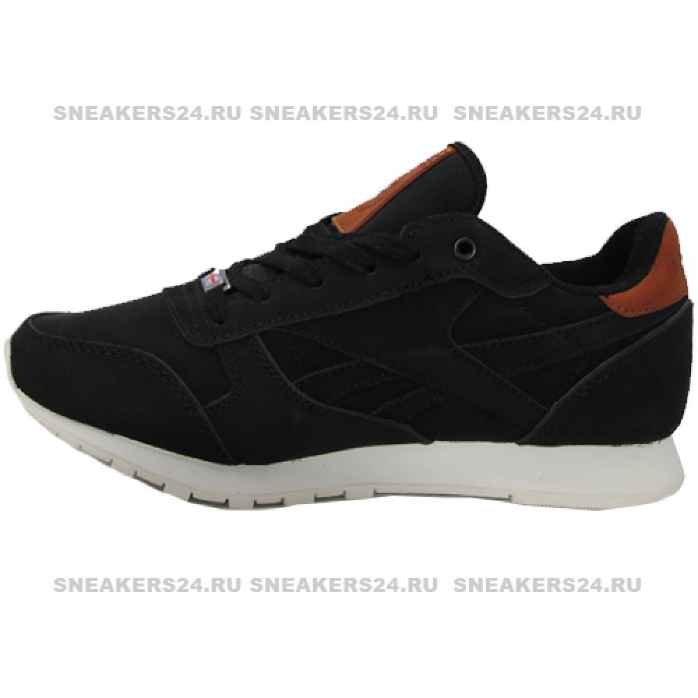 53709d4b Кроссовки Reebok Classic Black With Fur