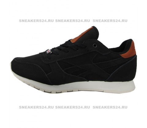 Кроссовки Reebok Classic Black With Fur