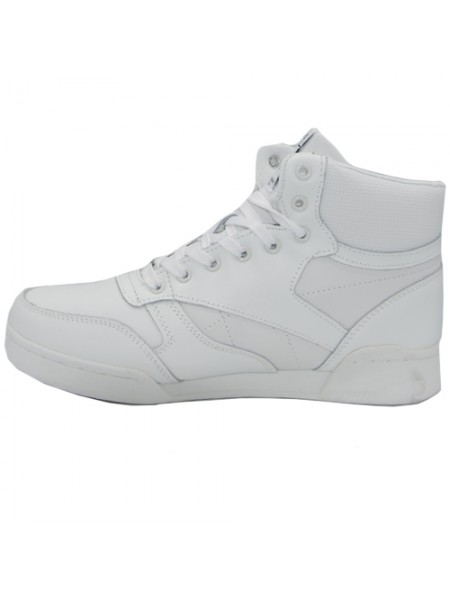 Кроссовки Reebok Classic High All White With Fur