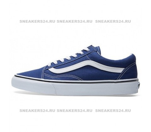 Кеды Vans Low Old Skool Navy/Blue