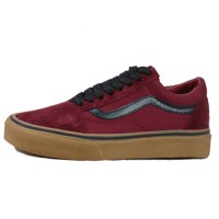 Кеды Vans Low Old Skool Burgundy