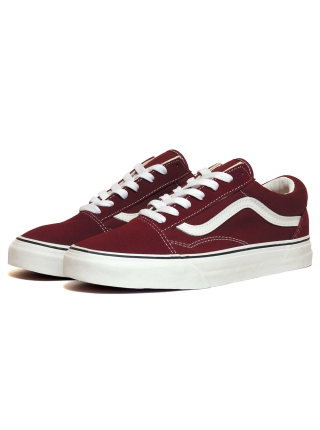 Кеды Vans Low Old Skool Wine/Burgundy