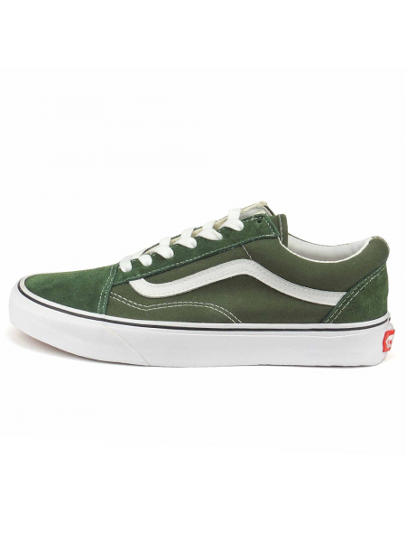 Vans Old Skool Army Green зеленые